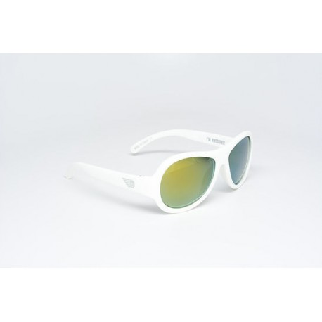 BABIATORS POLARIZED 3-7 whicked white
