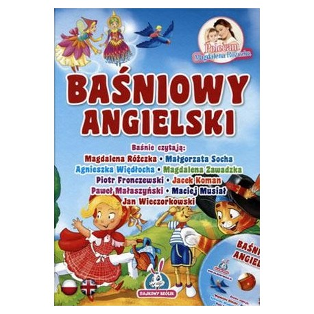 Baśniowy Angielski Książka Z Płytą Cd Mambo