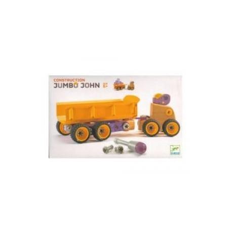 Zoo Block - Ciężarówka skręcana: Słoń Jumbo John