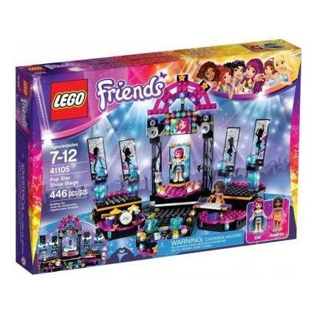 Lego Friends Scena Gwiazdy Pop 41105 Mambo