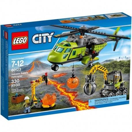 LEGO City Wulkan - Helikopter dostawczy 60123
