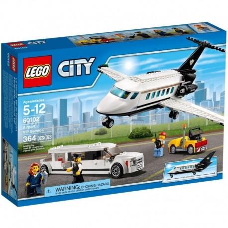 LEGO City Lotnisko - Obsługa VIP-ów 60102