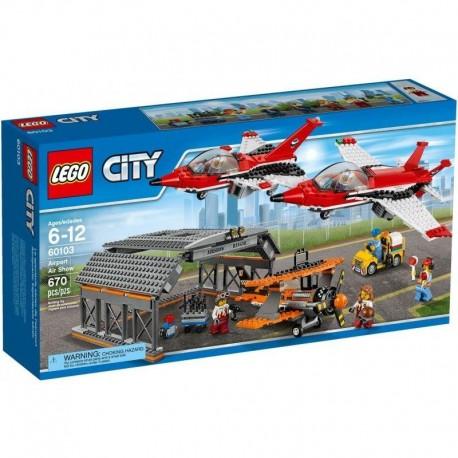 LEGO City Lotnisko - Pokazy lotnicze 60103