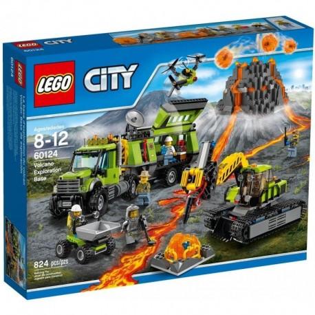 LEGO City Wulkan - baza badaczy wulkanów 60124